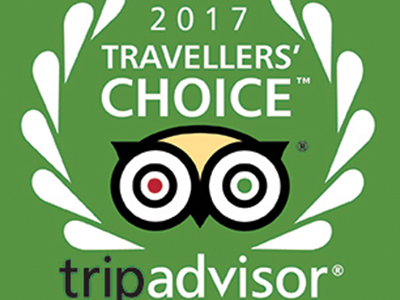 榮獲 2017 Traveller's Choice大獎
